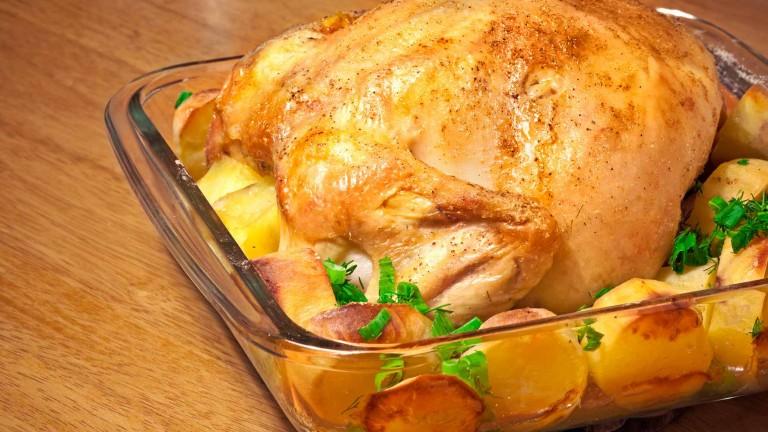 recette poulet au four et ses pommes de terre royal bernard. Black Bedroom Furniture Sets. Home Design Ideas