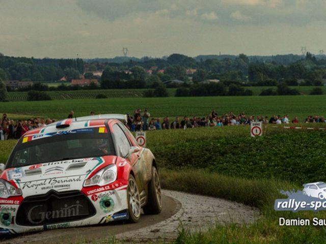 Voiture de Bryan Bouffier au Rallye Ypres 2016